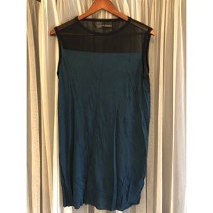 All saints tunic in blue